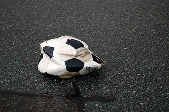 Ball kaputt.
