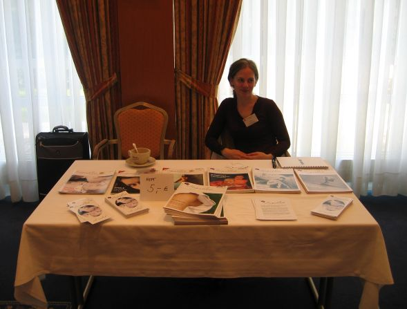 Anja bei der Booklover Conference