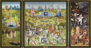 """Hieronymus Boschs Gemälde """"Garten der Lüste"""""""